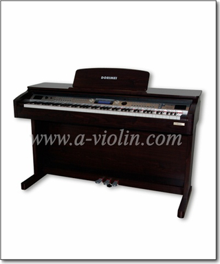 Piano digital negro 88 Hammer Keyboard Piano vertical (DP609)