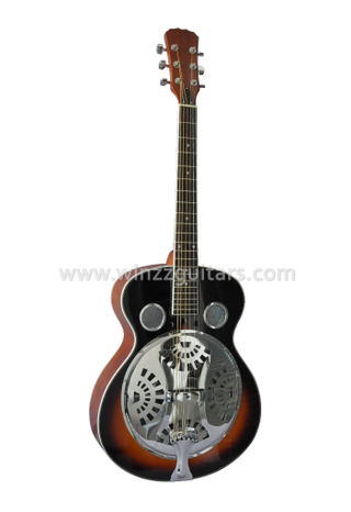 Spider Cone Plywood Electric Resonator Guitarra / Guitarra Resophonic (RGS88)